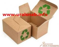 Коробка с печатью