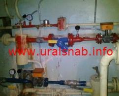 Установка узлов учета тепловой энергии (УКУТ)