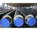 Изоляция прямого участка стальной трубы в ПЭ оболочке толщина слоя ППУ 40 мм